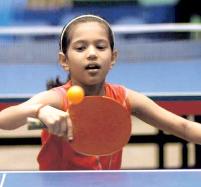 12-year Old Table Tennis Star, Diya selected in World Cadet Challenge