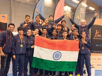 India's Girls flourish as Junior & cadet girls' teams clinch gold medals