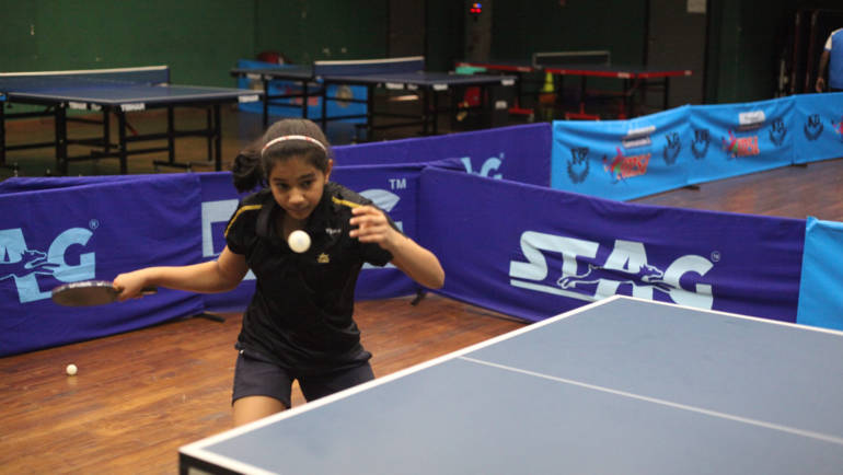 VIDEO: 12-year-old Indian table tennis prodigy hits smash after smash in training
