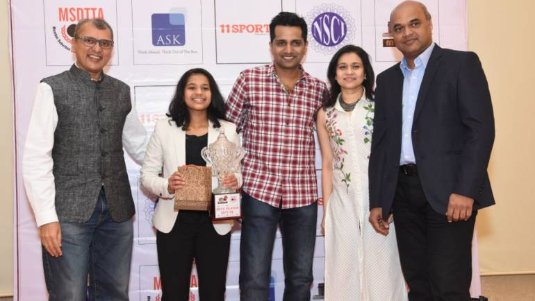 Diya Chitale adjudged Mumbai's best paddler