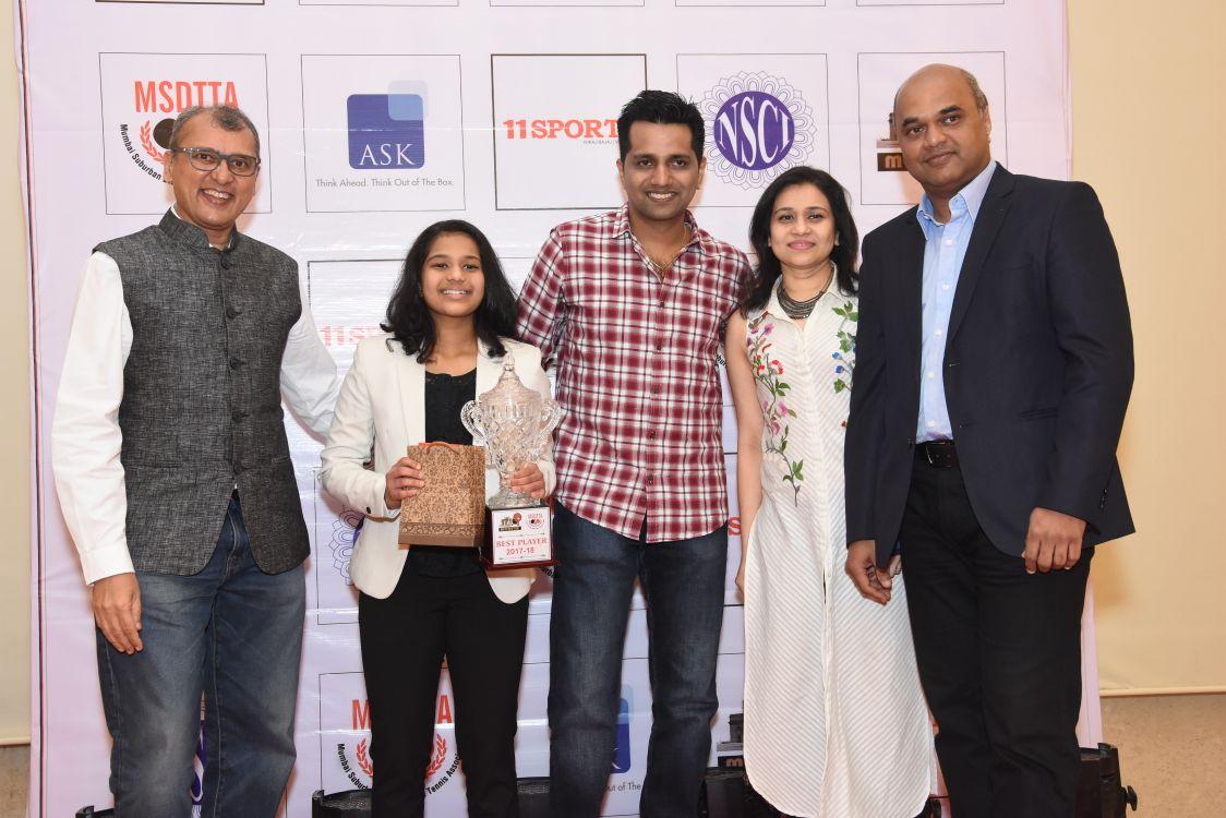 Diya Chitale adjudged Mumbai's best paddler